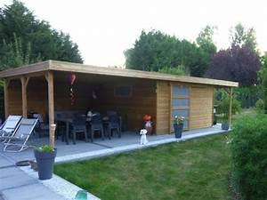 emejing maison de jardin moderne pictures design trends With maison bois toit plat 18 le top des abris de jardin 45 idees design archzine fr