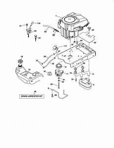 31 Craftsman Gt6000 Drive Belt Diagram