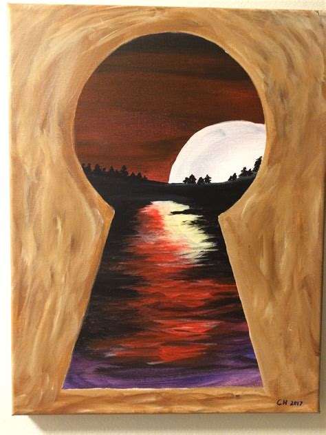 keyhole painted april
