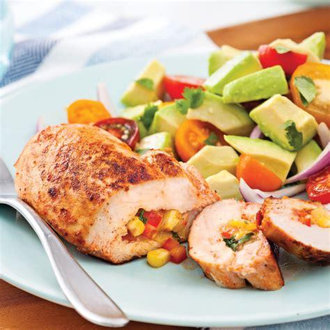 cuisine mexique poitrines de poulet à la mexicaine soupers de semaine