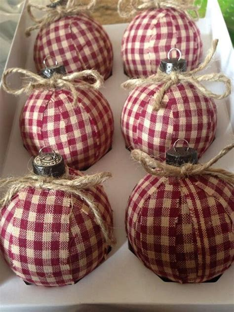 diy christmas tree ornaments country style christmas