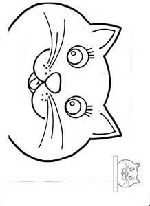Cat Head Paper Cut Outs