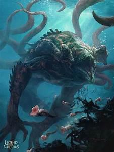 da sea sea monsters dump creature concept
