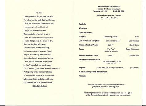 memorial service program free program for memorial service todayfabricec