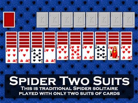 Two Suit Spider Solitaire by Solitaire Spider Two Suits