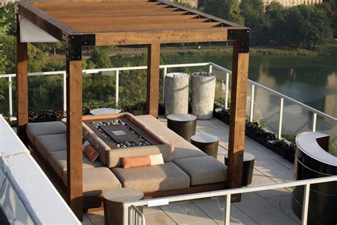 Roof Terrace In Central Park North   iDesignArch