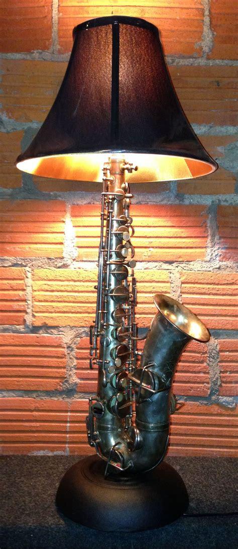 leap designed saxophone lamp  studio