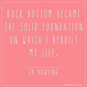 25+ best ideas ... Rock Foundation Quotes