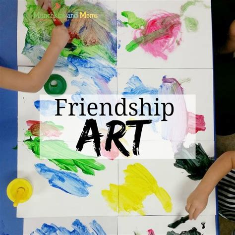 best 25 friendship ideas on friendship 309 | a4a9df7f7d72cb357378cf3ace9e8241 friendship preschool crafts preschool art