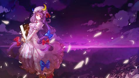 Purple Anime Wallpaper - purple wallpapers for desktop wallpaper cave