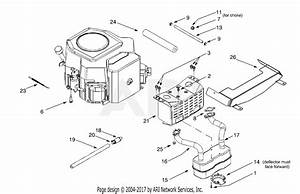 Mtd 14aw804h401  2000  Parts Diagram For Kohler  Twin