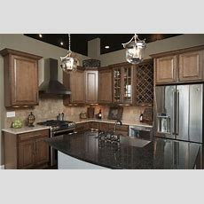 Wood Cabinets, Wine Rack, Stainless Steel Appliances