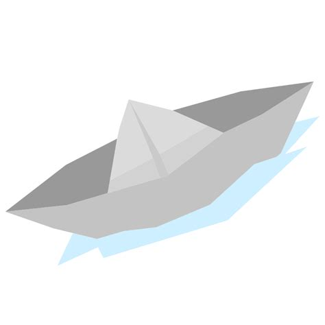How To Make A Realistic Paper Boat by Paper Boat Vector Www Imgkid The Image Kid Has It