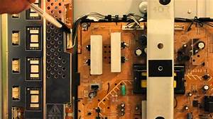 How To Repair 40 U0026quot  Sony Lcd Tv With 4 Blinks