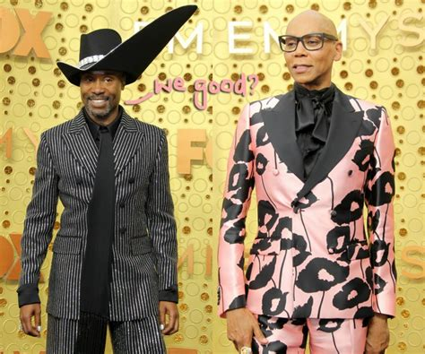 Billy Porter Denies Throwing Shade Rupaul During Emmys