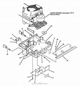 Snapper Z2004k  80709  20 Hp Hydrogear Drive Ztr Series 4