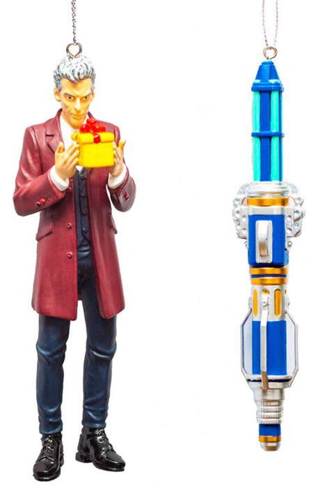 twelfth doctor  blue sonic screwdriver ornament box set