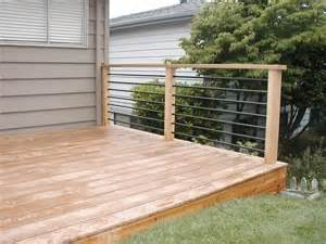 railing styles west coast decks patio ideas
