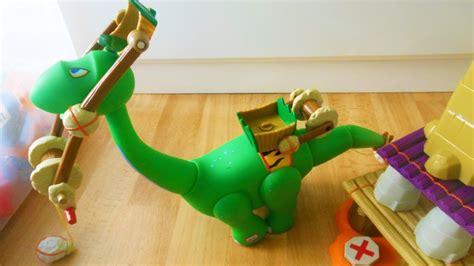 tikes builder dinosaurs toy youtube