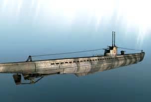 German U-boat Underwater