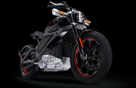 This Is Harley-davidson's Electric Motorcycle