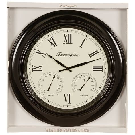 weather station clock home decor bm stores