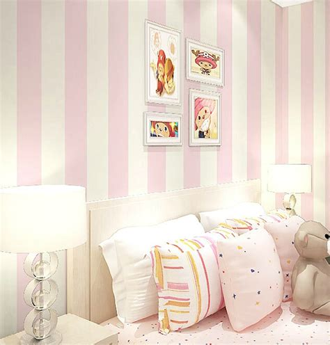 bedroom with pink walls pink wallpaper for walls gallery 14476