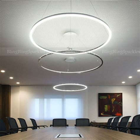Exclusive Led Modern Acrylic Chrome Chandelier Ceiling