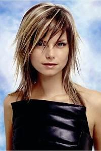 Meches Blondes Sur Chatain : coiffure meche blonde ~ Melissatoandfro.com Idées de Décoration