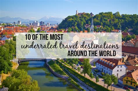 10 of the most underrated travel destinations around the world flying the nest