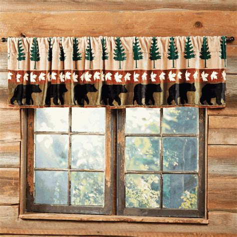 Bear Mountain Plush Valance