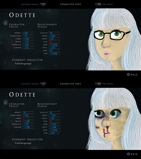 Until Dawn OC: Odette by MyHiddenCove on DeviantArt