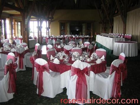 burgundy wedding wedding dj decorations vancouver