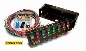 8 Switch Panel  All Necessary Wiring  U0026 Hardware