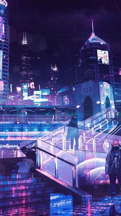 Cyberpunk Neon 4k Wallpapers Pixel Iphone Backgrounds