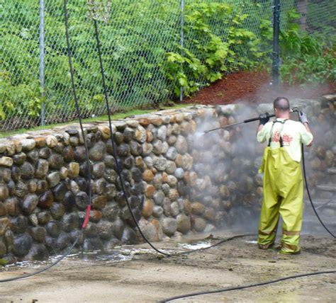 and brick wall washing atlantic power cleaning
