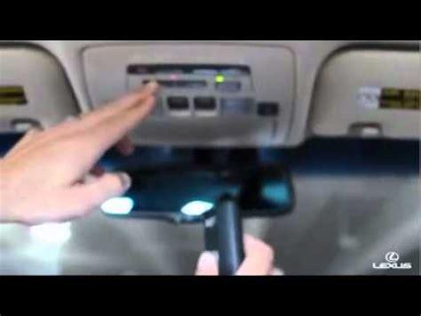 Lexus Rx Garage Door Opener by How To Pair Your Bluetooth Phone With Your Lexus Rx350