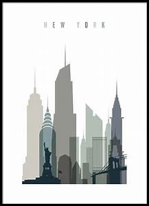 New York Poster : new york skyline poster ~ Orissabook.com Haus und Dekorationen