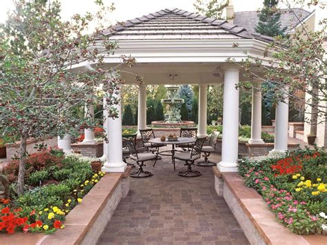 european garden designs vacation landscapes landscaping ideas and hardscape design hgtv