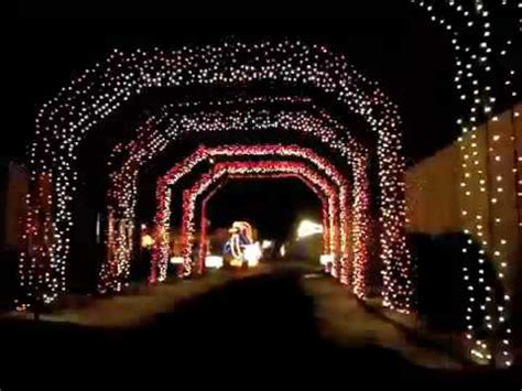 holiday lights at lakemont park youtube