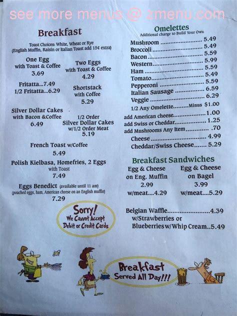 menu  carls kountry kitchen restaurant syracuse