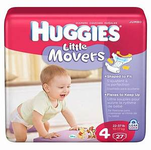 Amazon.com: Huggies Little Movers, Size 4, 112 Count ...