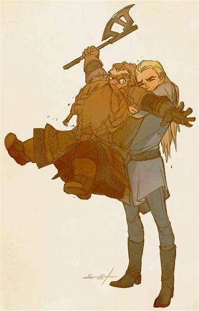 Legolas Gimli Lotr Tolkien Thing Ever Lord