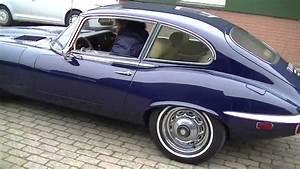 Jaguar Tipe E : jaguar e type v12 1973 fully restored video youtube ~ Medecine-chirurgie-esthetiques.com Avis de Voitures