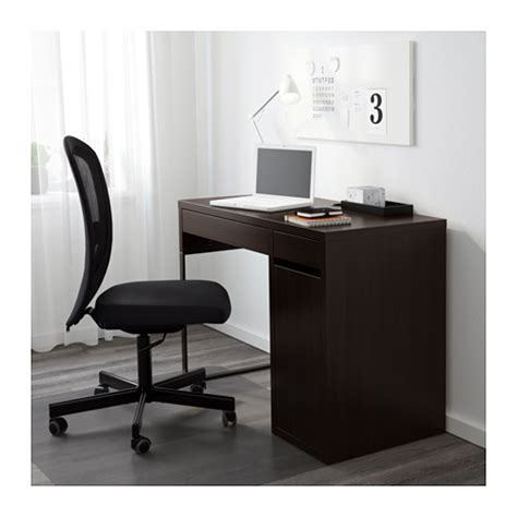 ikea bureau micke micke desk black brown 105x50 cm ikea