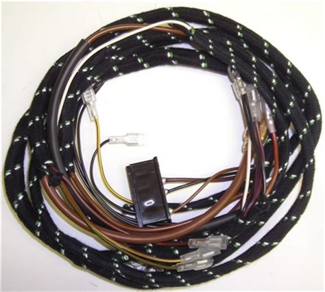 Jaguar Series Xke Alternator Wiring Harness