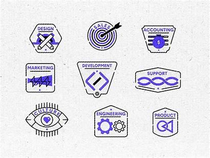Department Badges Dribbble Sales