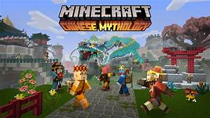 Minecraft Novo Pacote De DLCs Chinese Mythology