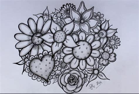 bloem tekenene diy bloemen tekenen door sofie rozendaal