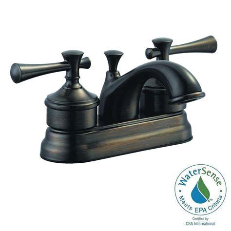 Moen Banbury Bathroom Faucet Bronze by Moen Banbury 4 In Centerset 2 Handle Bathroom Faucet In